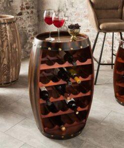 LuxD Regál na víno Reed 80 cm