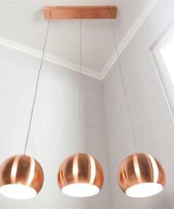 LuxD 16681 Lampa Fuzz 3 závesné svietidlo