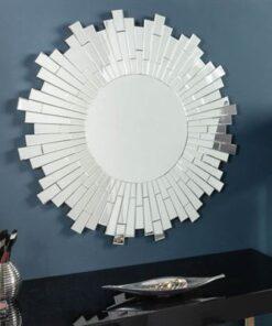 LuxD Okrúhle nástenné zrkadlo Jadon  x  24169