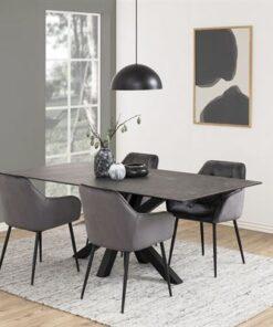 Dkton 23319 Dizajnová stolička Alarik