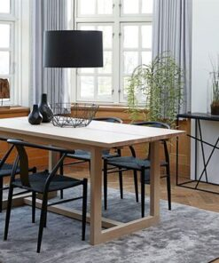 Catalent Jedálenský stôl Bily biely 170 cm