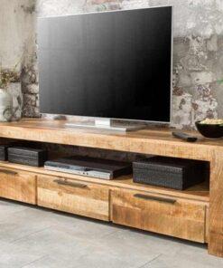LuxD Dizajnový TV stolík Thunder 170 cm mango