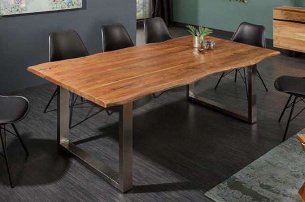 LuxD Jedálenský stôl Massive 180 cm Honey - hrúbka 35 mm - akácia