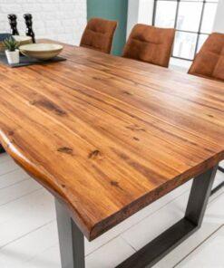 LuxD Jedálenský stôl Evolution 160cm Antracit