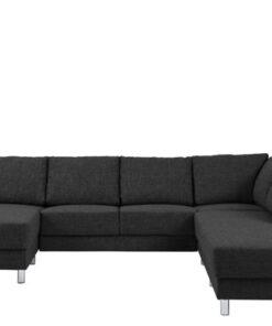 Dkton Dizajnová sedacia súprava Nim antracit 286 cm P