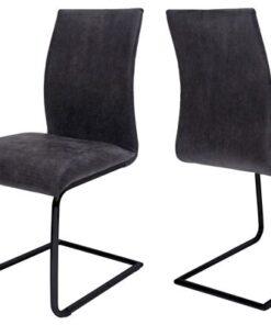 Catalent 21550 Jedálenská stolička Gwan / sivo čierna