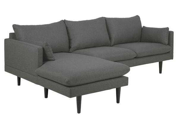 Dkton Dizajnová sedacia súprava Nanjala 242 cm ľavá