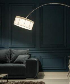 LuxD 16873 Stojanová lampa Ample biela Stojanové svietidlo