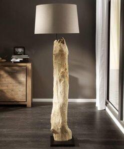 LuxD 16756 Luxusná stojanová lampa Stump béžová Stojanové svietidlo