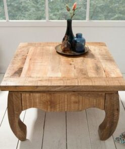 LuxD Konferenčný stolík Dust Antique 60cm mango