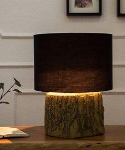 LuxD 18135 Stolná lampa Aeldra 40cm čierna