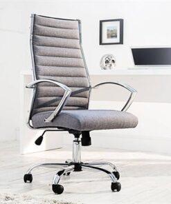 LuxD Kancelárska stolička Boss sivá