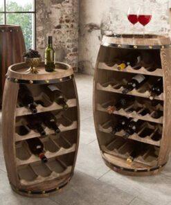 LuxD Regál na víno Reed 60 cm