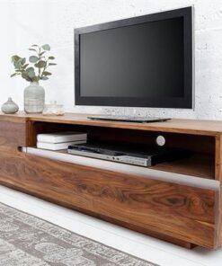 LuxD Luxusný TV stolík Flame z masívu