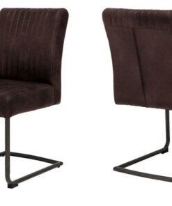 Catalent 19361 Dizajnová stolička Karla / hnedá
