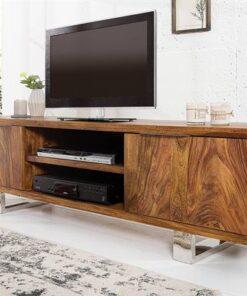 LuxD Luxusný TV stolík Falco z masívu