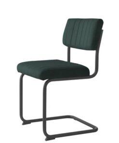 Furniria 23982 Konzolová stolička Javon zelený zamat
