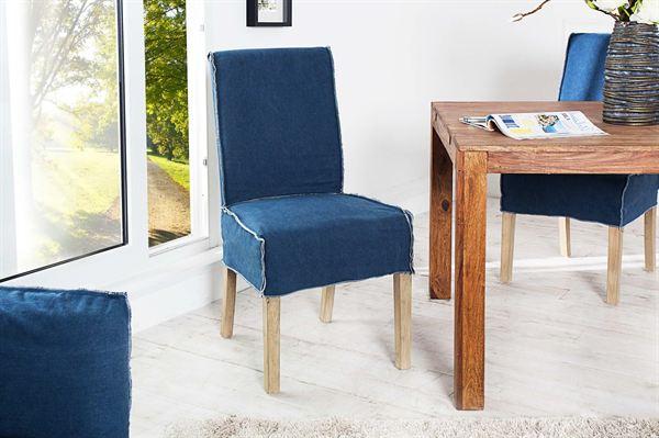 LuxD 16205 Stolička Passanger modrá