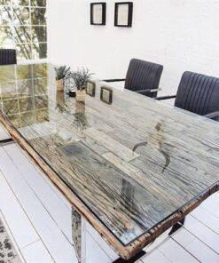 LuxD Luxusný jedálenský stôl z masívu Shark 240cm