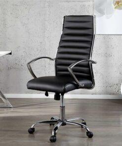 LuxD Kancelárska stolička Boss čierna