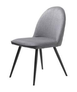 Furniria 24002 Dizajnová stolička Dayton sivá