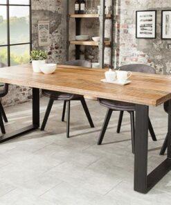 LuxD Jedálenský stôl Thunder 160 cm mango