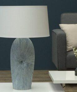 LuxD 20321 Stolná lampa Phoebe biela
