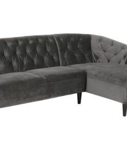 Dkton Luxusná sedacia súprava Nyree 222 cm pravá