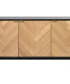 Furniria Dizajnová komoda Kaia - 3 dverová