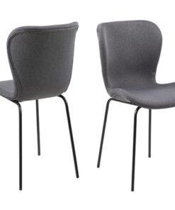 Dkton 23363 Dizajnová jedálenská stolička Alejo
