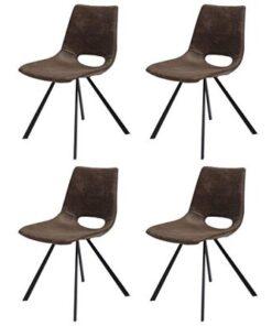 Catalent 19865 Dizajnová stolička Izabella / hnedá