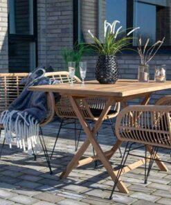 Norddan Záhradný stôl Mekhi teak