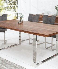 LuxD Luxusný jedálenský stôl Flame 160cm