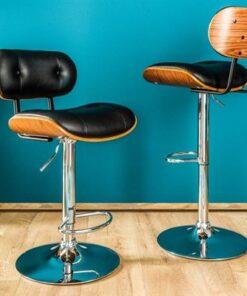 LuxD Dizajnová barová stolička Kadence