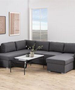 Dkton Dizajnová sedacia súprava Nanala 297 cm ľavá