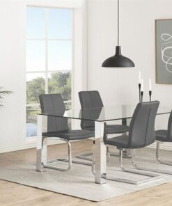 Dkton 23250 Moderná stolička Alcwin