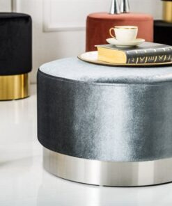 LuxD Dizajnová taburetka Alejandra 55 cm