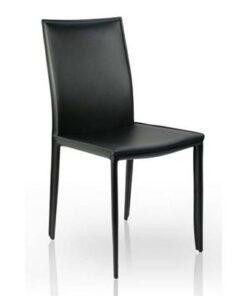 LuxD 16198 Stolička Neapol čierna koža
