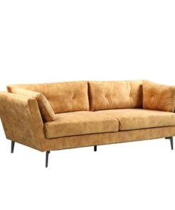 LuxD Dizajnová sedačka Billy 220 cm horčicový zamat