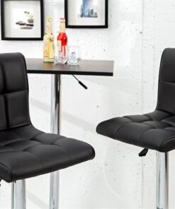 LuxD Barová stolička Modern Black