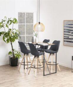 Dkton Dizajnová barová stolička Nascha